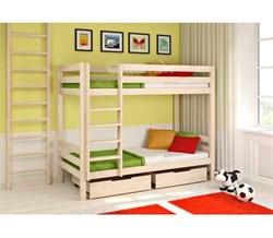 Классическая двухъярусная кровать - фото 5064