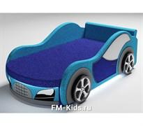 Детский диван в виде машины Велюр