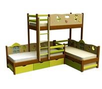 """Кровать для троих """"Трио"""""""