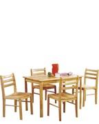 Комплект Стартер - стол и 4 стула